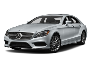 Diamond Silver Metallic 2018 Mercedes-Benz CLS Pictures CLS CLS 550 4MATIC Coupe photos front view