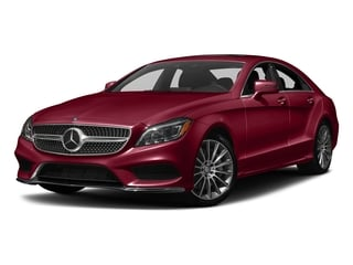 designo Cardinal Red Metallic 2018 Mercedes-Benz CLS Pictures CLS CLS 550 4MATIC Coupe photos front view
