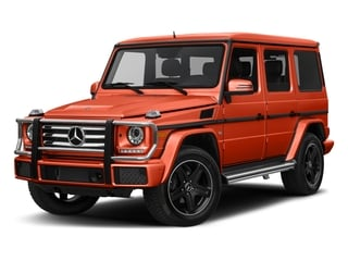 designo Manufaktur Orange Metallic 2018 Mercedes-Benz G-Class Pictures G-Class 4 Door Utility 4Matic photos front view