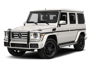 designo Manufaktur Mystic White 2018 Mercedes-Benz G-Class Pictures G-Class 4 Door Utility 4Matic photos front view