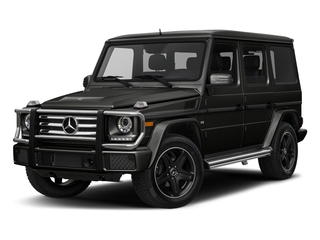 designo Night Black Magno 2018 Mercedes-Benz G-Class Pictures G-Class G 550 4MATIC SUV photos front view