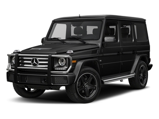 Obsidian Black Metallic 2018 Mercedes-Benz G-Class Pictures G-Class 4 Door Utility 4Matic photos front view