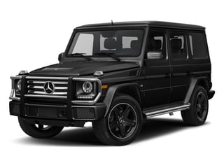 Obsidian Black Metallic 2018 Mercedes-Benz G-Class Pictures G-Class G 550 4MATIC SUV photos front view