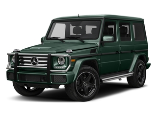 Jade Green Metallic 2018 Mercedes-Benz G-Class Pictures G-Class 4 Door Utility 4Matic photos front view