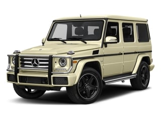 designo Manufaktur Light Ivory 2018 Mercedes-Benz G-Class Pictures G-Class G 550 4MATIC SUV photos front view