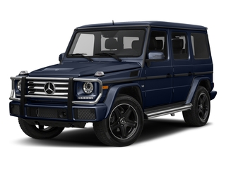 designo Manufaktur Midnight Blue 2018 Mercedes-Benz G-Class Pictures G-Class G 550 4MATIC SUV photos front view