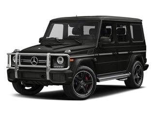 designo Night Black Magno 2018 Mercedes-Benz G-Class Pictures G-Class AMG G 63 4MATIC SUV photos front view