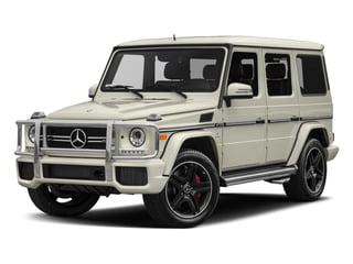 Polar White 2018 Mercedes-Benz G-Class Pictures G-Class AMG G 63 4MATIC SUV photos front view