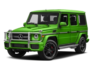 Alien Green 2018 Mercedes-Benz G-Class Pictures G-Class AMG G 63 4MATIC SUV photos front view