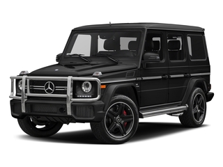 Magnetite Black Metallic 2018 Mercedes-Benz G-Class Pictures G-Class AMG G 63 4MATIC SUV photos front view