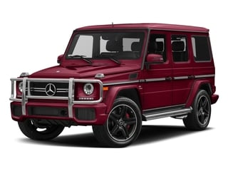 Storm Red Metallic 2018 Mercedes-Benz G-Class Pictures G-Class AMG G 63 4MATIC SUV photos front view