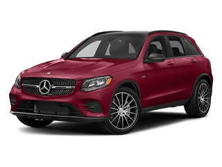 designo Cardinal Red Metallic 2018 Mercedes-Benz GLC Pictures GLC AMG GLC 43 4MATIC SUV photos front view