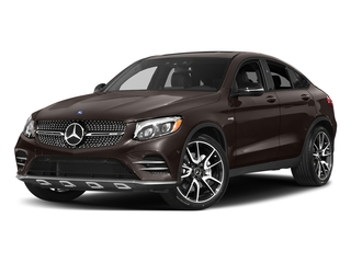 designo Dakota Brown Magno (Matte Finish) 2018 Mercedes-Benz GLC Pictures GLC AMG GLC 43 4MATIC Coupe photos front view