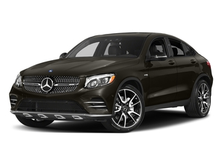 Dakota Brown Metallic 2018 Mercedes-Benz GLC Pictures GLC AMG GLC 43 4MATIC Coupe photos front view
