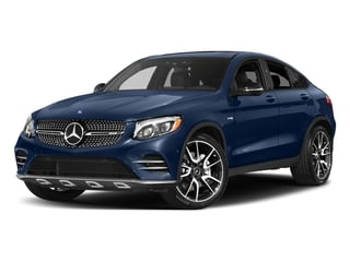 Brilliant Blue Metallic 2018 Mercedes-Benz GLC Pictures GLC AMG GLC 43 4MATIC Coupe photos front view