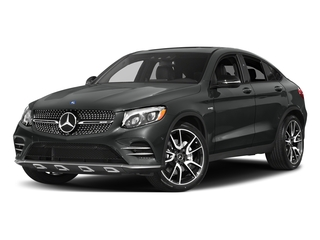Selenite Grey Metallic 2018 Mercedes-Benz GLC Pictures GLC AMG GLC 43 4MATIC Coupe photos front view