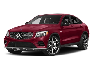 designo Cardinal Red Metallic 2018 Mercedes-Benz GLC Pictures GLC AMG GLC 43 4MATIC Coupe photos front view
