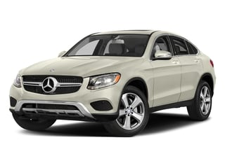 Polar White 2018 Mercedes-Benz GLC Pictures GLC Util 4D GLC300 Sport Coupe AWD I4 photos front view