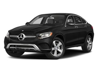 Obsidian Black Metallic 2018 Mercedes-Benz GLC Pictures GLC Util 4D GLC300 Sport Coupe AWD I4 photos front view