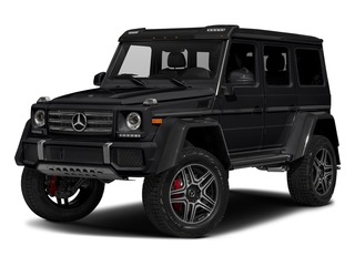 Black 2018 Mercedes-Benz G-Class Pictures G-Class 4x4 Squared 4 Door Utility photos front view