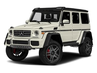 Polar White 2018 Mercedes-Benz G-Class Pictures G-Class 4x4 Squared 4 Door Utility photos front view