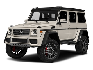 designo Manufaktur Desert Silver Metallic 2018 Mercedes-Benz G-Class Pictures G-Class G 550 4x4 Squared SUV photos front view