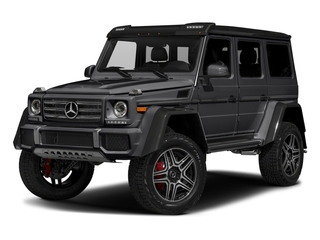 Steel Grey Metallic 2018 Mercedes-Benz G-Class Pictures G-Class G 550 4x4 Squared SUV photos front view