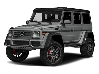 Palladium Silver Metallic 2018 Mercedes-Benz G-Class Pictures G-Class G 550 4x4 Squared SUV photos front view