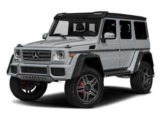 Diamond Silver Metallic 2018 Mercedes-Benz G-Class Pictures G-Class G 550 4x4 Squared SUV photos front view