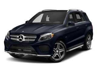 Lunar Blue Metallic 2018 Mercedes-Benz GLE Pictures GLE GLE 550e 4MATIC SUV photos front view