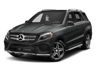 Selenite Grey Metallic 2018 Mercedes-Benz GLE Pictures GLE GLE 550e 4MATIC SUV photos front view