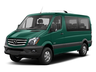 Solar Green 2018 Mercedes-Benz Sprinter Passenger Van Pictures Sprinter Passenger Van 2500 Standard Roof V6 144 RWD photos front view