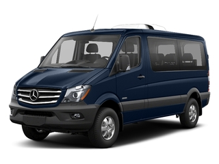 Vanda Blue 2018 Mercedes-Benz Sprinter Passenger Van Pictures Sprinter Passenger Van 2500 Standard Roof V6 144 4WD photos front view