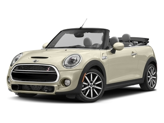 Pepper White 2018 MINI Convertible Pictures Convertible Cooper S FWD photos front view