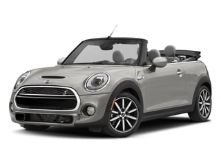 White Silver Metallic 2018 MINI Convertible Pictures Convertible Cooper S FWD photos front view