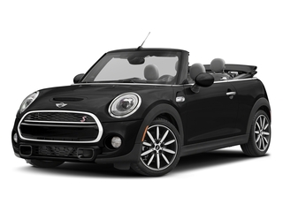 Midnight Black Metallic 2018 MINI Convertible Pictures Convertible Cooper S FWD photos front view