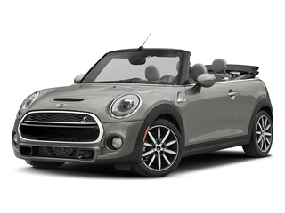 Melting Silver Metallic 2018 MINI Convertible Pictures Convertible Cooper S FWD photos front view