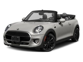White Silver Metallic 2018 MINI Convertible Pictures Convertible Cooper FWD photos front view