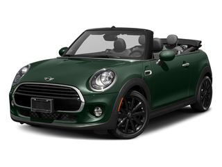 British Racing Green Metallic 2018 MINI Convertible Pictures Convertible Cooper FWD photos front view
