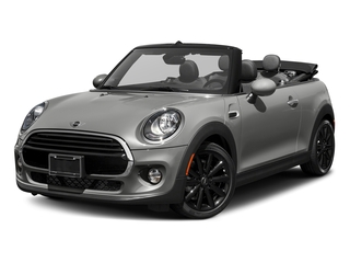 Moonwalk Grey Semi-Metallic 2018 MINI Convertible Pictures Convertible Cooper FWD photos front view