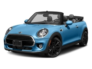Electric Blue Metallic 2018 MINI Convertible Pictures Convertible Cooper FWD photos front view