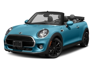 Caribbean Aqua Metallic 2018 MINI Convertible Pictures Convertible Cooper FWD photos front view