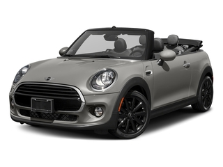 Melting Silver Metallic 2018 MINI Convertible Pictures Convertible Cooper FWD photos front view