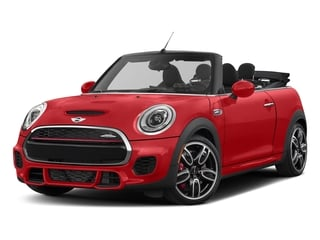 Chili Red 2018 MINI Convertible Pictures Convertible Convertible 2D JCW I4 Turbo photos front view