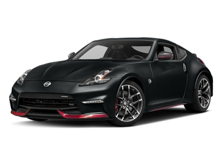 Magnetic Black 2018 Nissan 370Z Coupe Pictures 370Z Coupe 2D NISMO Tech V6 photos front view