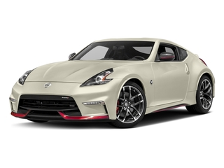 Pearl White 2018 Nissan 370Z Coupe Pictures 370Z Coupe 2D NISMO Tech V6 photos front view