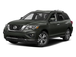 Midnight Pine 2018 Nissan Pathfinder Pictures Pathfinder FWD SV photos front view