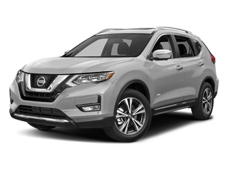 Brilliant Silver 2018 Nissan Rogue Pictures Rogue FWD SL Hybrid photos front view