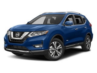 Caspian Blue 2018 Nissan Rogue Pictures Rogue FWD SL Hybrid photos front view