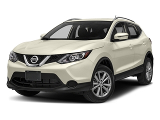 Pearl White 2018 Nissan Rogue Sport Pictures Rogue Sport Utility 4D SV Mid-Year 2WD photos front view